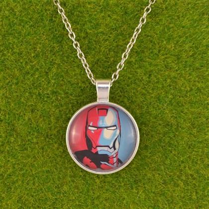 Кулон Железный человек - фото 6618