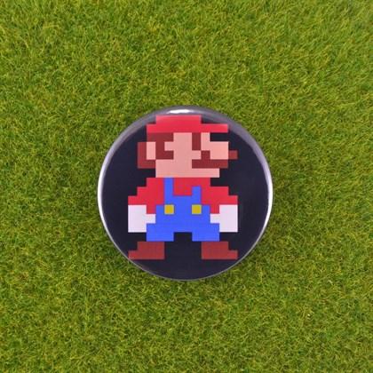 Значок Марио - фото 6642