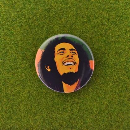 Значок Боб Марли - фото 6701