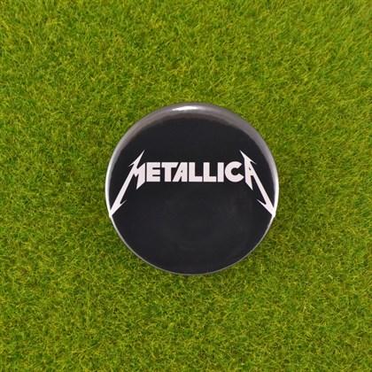 Значок Metallica - фото 6722