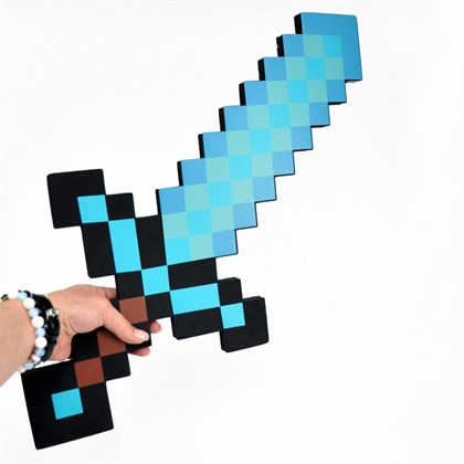Алмазный меч Майнкрафт - фото 7311
