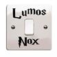 Наклейка cтикер Lumos Nox - фото 8258