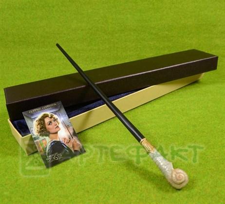 Волшебная палочка Куинни Гольдштейн с металлическим стержнем - фото 10005