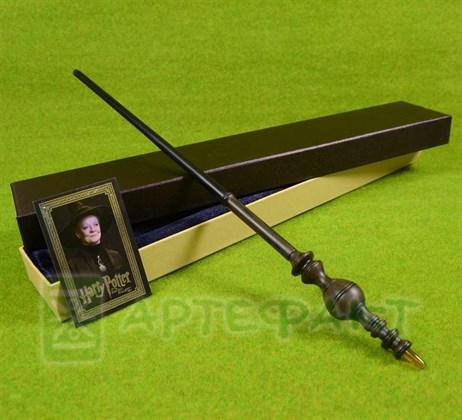 Палочка Минервы Макгонагалл с металлическим стержнем - фото 10011