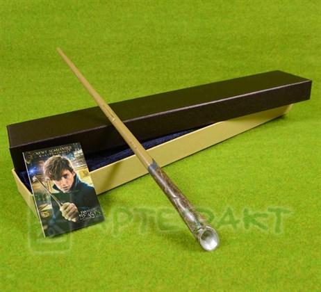 Волшебная палочка Ньюта Саламандера с металлическим стержнем - фото 10021