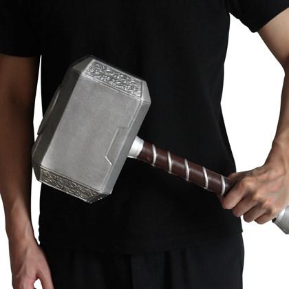 Молот Тора Мьёльнир прорезиненный 44 см - фото 10395