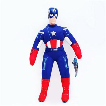 Мягкая игрушка Капитан Америка 40 см - фото 10471