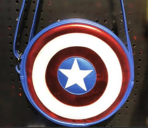 Сумка щит Капитана Америки - фото 10498