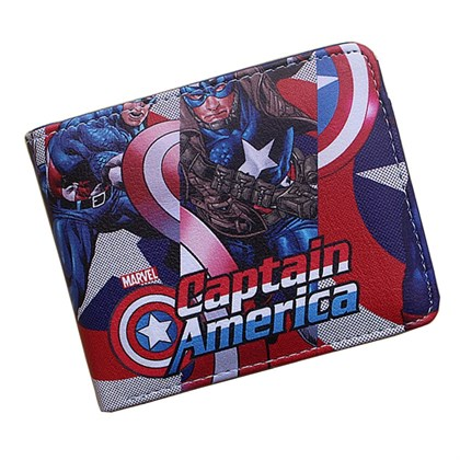 Кошелек Капитан Америка - фото 10722
