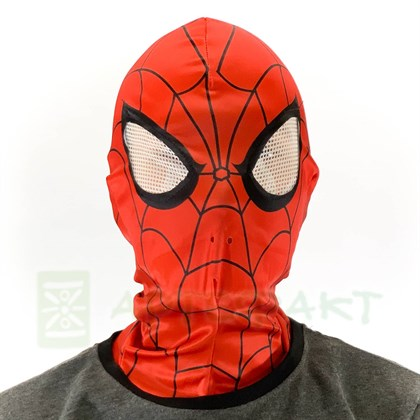 Маска Человека Паука deluxe - фото 11007