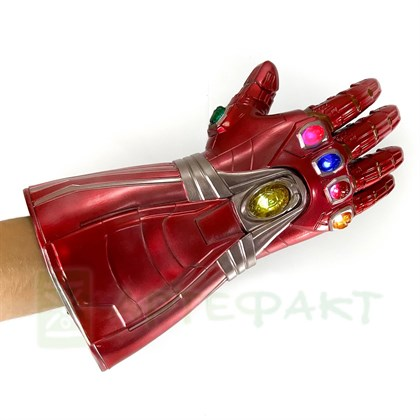 Перчатка Бесконечности Железного Человека со светом - фото 11080