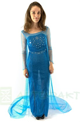 Платье Эльзы взрослое - фото 11195