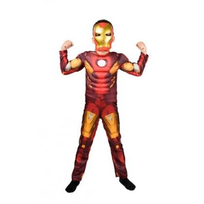 Костюм Железного Человека детский с мышцами - фото 11203