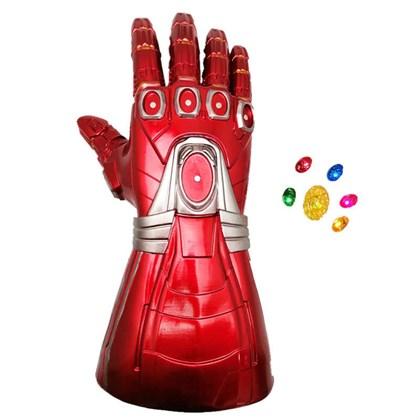 Перчатка Бесконечности Железного Человека со светящимися съемными камнями - фото 11251
