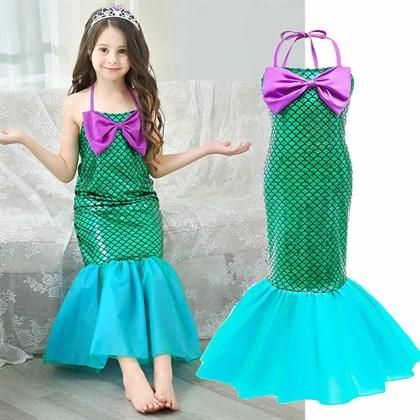 Платье хвост русалки - фото 11328