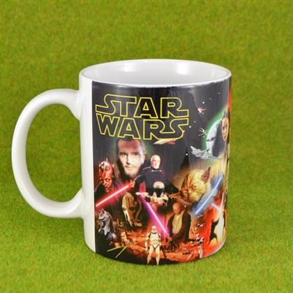 Кружка Star Wars эпизоды 1-6 - фото 6367