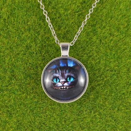 Кулон Чеширский кот - фото 6534