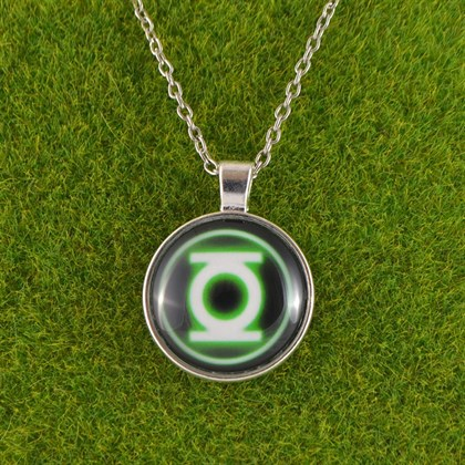 Кулон Зеленый фонарь - фото 6542