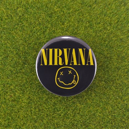 Значок Nirvana - фото 6636