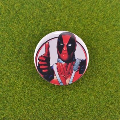 Значок Deadpool - фото 6686