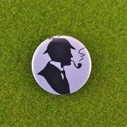 Значок Шерлок классический - фото 6690