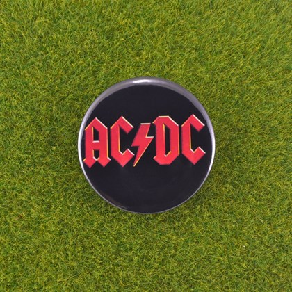 Значок AC/DC - фото 6692