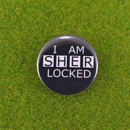 Значок Шерлок - фото 6728