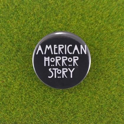 Значок Американская история ужасов тип 2 - фото 6734