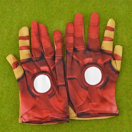 Перчатки Железного Человека тканевые - фото 8125