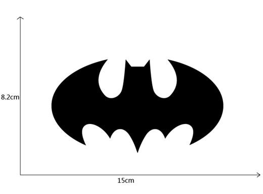Наклейка cтикер Бэтмен - фото 8251