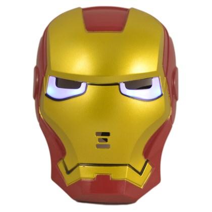 Маска Железного человека со светящимися глазами - фото 8280