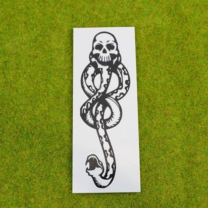 Временная татуировка Метка пожирателя смерти - фото 8752
