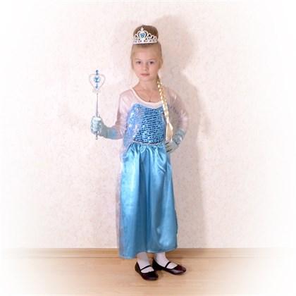 Платье Эльзы Холодное сердце - фото 8849