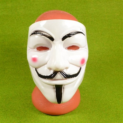 Маска анонимуса Гая Фокса Вендетта - фото 9008