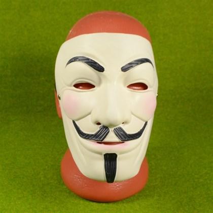 Маска Гая Фокса Анонимус Вендетта из латекса - фото 9242