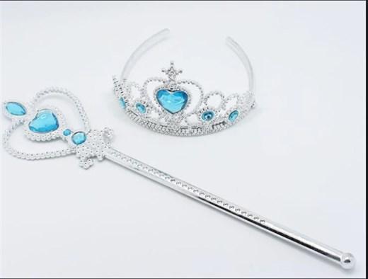 Волшебная палочка и корона Эльзы - фото 9737