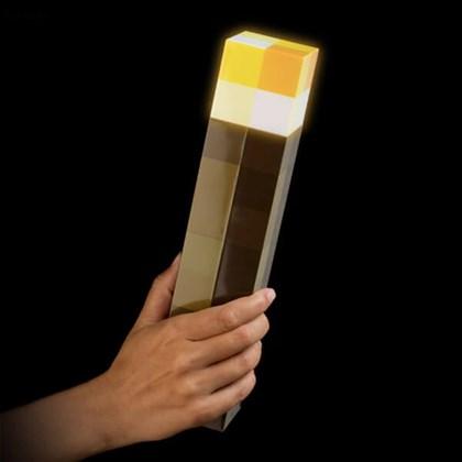 Игрушка факел светящийся Майнкрафт - фото 9918