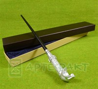 Волшебная палочка Люциуса Малфоя с металлическим стержнем