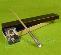 Волшебная палочка Ньюта Саламандера с металлическим стержнем
