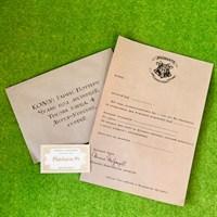 Приглашение на День Рождения в стиле Гарри Поттера (письмо)