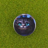 Значок Чеширский кот