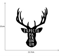 Наклейка cтикер Патронус