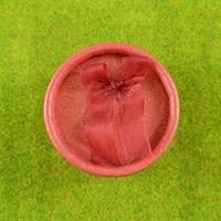 Красная коробочка (круглая)