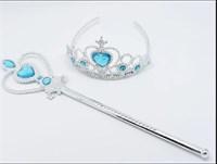 Волшебная палочка и корона Эльзы