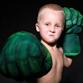 Перчатки кулаки Халка - фото 9069